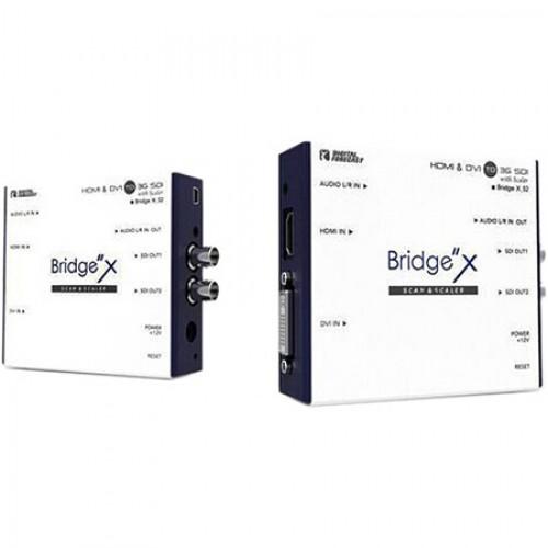 Digital Forecast X-S2 HDMI & DVI to 3G/HD/SD SDI Converter with SCAN Mode