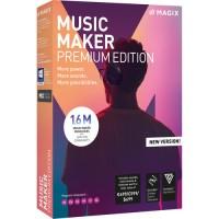 ANR008432ESDL1 MAGIX EntertainmentMusic 2019 Premium Edition-Software(Download)