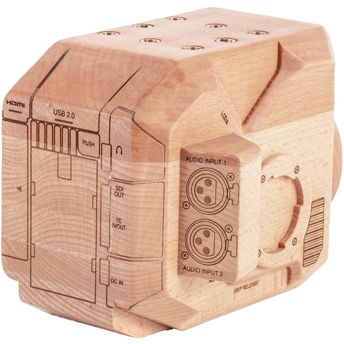 257100   Wooden Camera    Wood Panasonic EVA1 Model